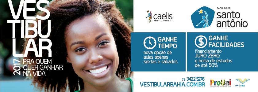 Vestibular 2017 - Faculdade Santo Antonio