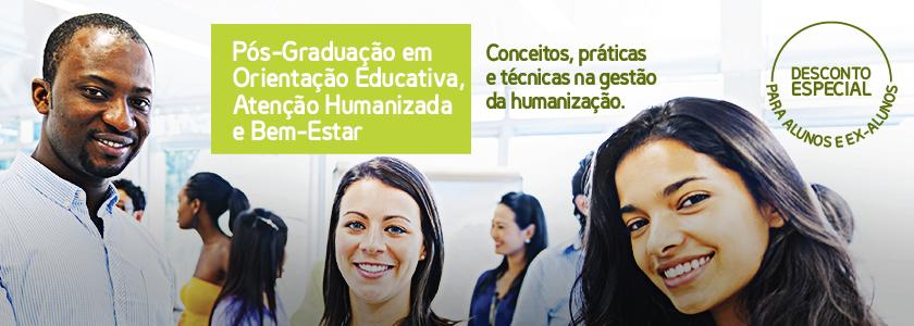 Pós-Graduação em Orientação Educativa, Atenção Humanizada e Bem-Estar