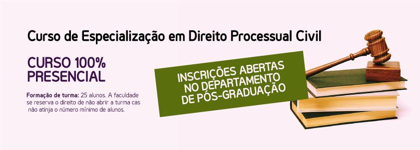 Curso de Especialização em Direito Processual Civil