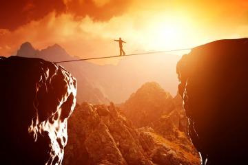 Arriscar-se não é o mesmo que fazer coisas difíceis